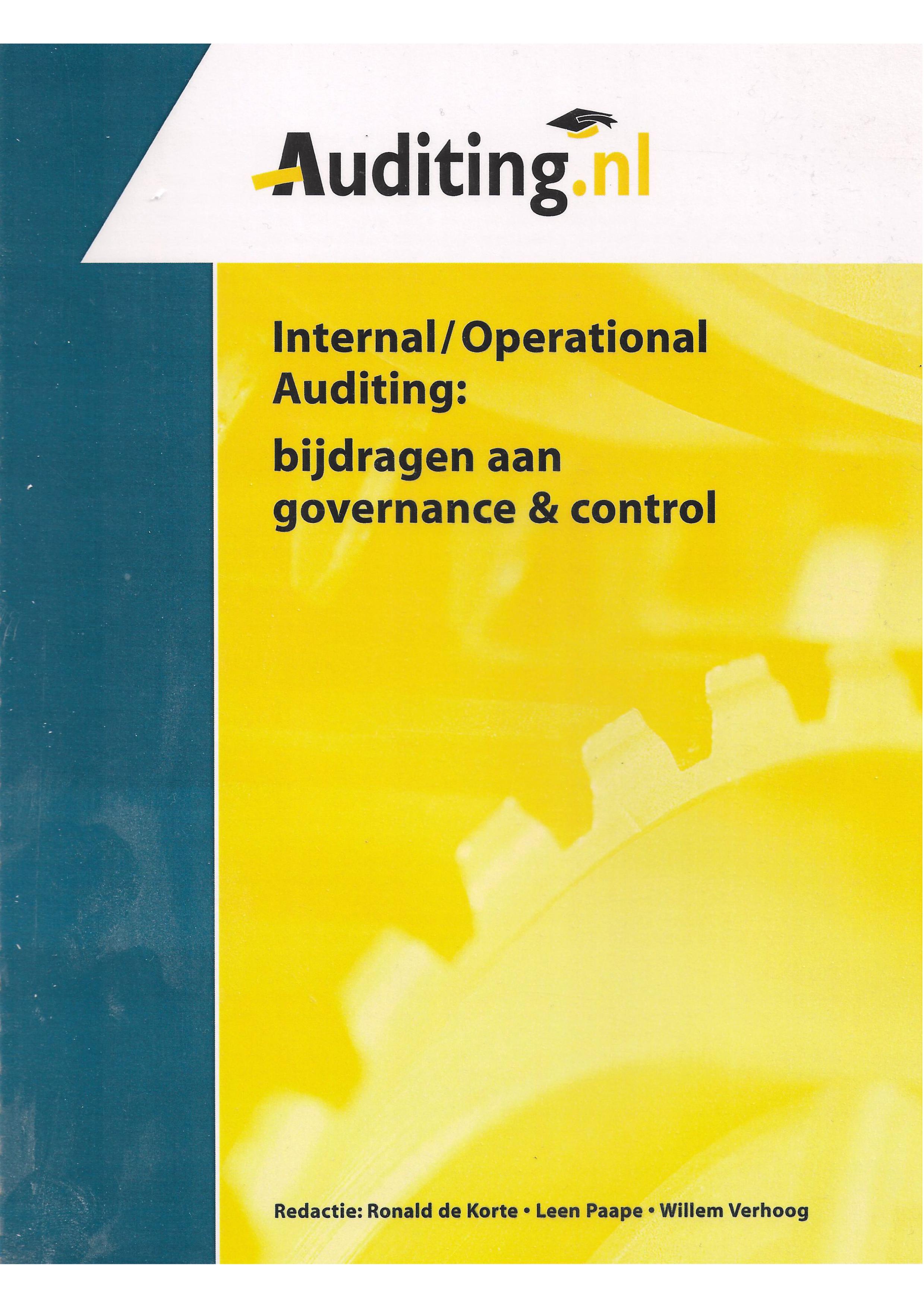Management Control Auditing: bijdragen aan assurance & consulting activities