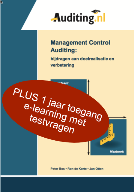Management Control Auditing (BOEK + TESTVRAGEN)